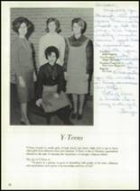 1964 Tupelo High School Yearbook Page 86 & 87