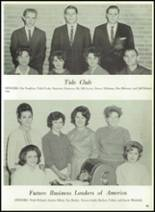 1964 Tupelo High School Yearbook Page 98 & 99
