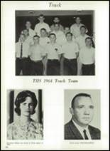 1964 Tupelo High School Yearbook Page 126 & 127