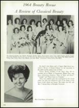 1964 Tupelo High School Yearbook Page 156 & 157