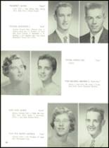 1958 Baldwinsville Academy Yearbook Page 42 & 43