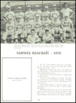 1958 Baldwinsville Academy Yearbook Page 96 & 97