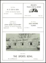 1958 Baldwinsville Academy Yearbook Page 110 & 111