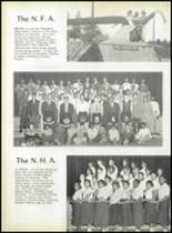 1958 Pomonkey High School Yearbook Page 38 & 39