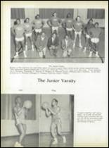 1958 Pomonkey High School Yearbook Page 54 & 55