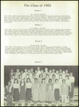 1958 Pomonkey High School Yearbook Page 56 & 57