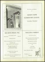 1958 Pomonkey High School Yearbook Page 72 & 73