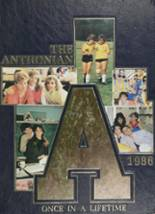 1986 Yearbook St. Anthony's High School