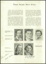 1942 Hurst High School Yearbook Page 16 & 17