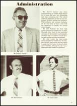 1984 Cobden High School Yearbook Page 14 & 15