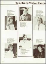 1984 Cobden High School Yearbook Page 16 & 17