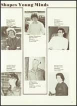 1984 Cobden High School Yearbook Page 20 & 21