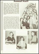1984 Cobden High School Yearbook Page 28 & 29