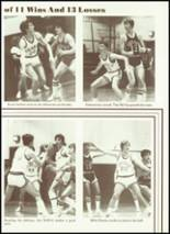 1984 Cobden High School Yearbook Page 58 & 59