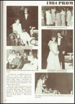 1984 Cobden High School Yearbook Page 82 & 83