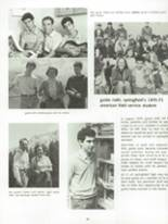 1971 Springfield High School Yearbook Page 84 & 85