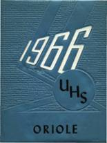 1966 Yearbook Upham High School