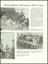 1971 Chrysler High School Yearbook Page 60 & 61