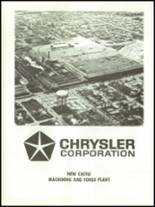 1971 Chrysler High School Yearbook Page 182 & 183