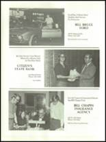 1971 Chrysler High School Yearbook Page 184 & 185