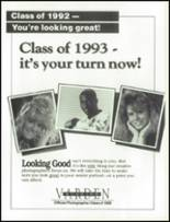 1992 Rim of the World High School Yearbook Page 212 & 213