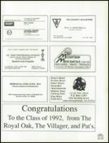 1992 Rim of the World High School Yearbook Page 244 & 245