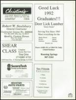 1992 Rim of the World High School Yearbook Page 246 & 247