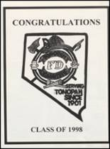 1998 Tonopah High School Yearbook Page 96 & 97