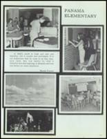 1975 Panama High School Yearbook Page 106 & 107