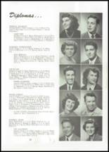 1951 Naches Valley High School Yearbook Page 26 & 27