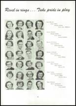 1951 Naches Valley High School Yearbook Page 34 & 35