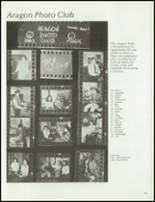 1976 Aragon High School Yearbook Page 68 & 69