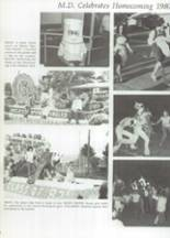 1981 Mater Dei Catholic High School Yearbook Page 10 & 11