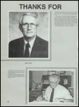 1987 Conway High School Yearbook Page 36 & 37