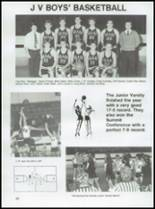 1987 Conway High School Yearbook Page 54 & 55