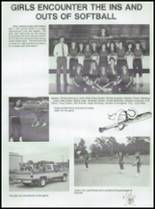1987 Conway High School Yearbook Page 60 & 61