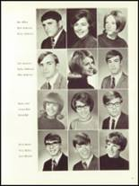 1970 Iowa Falls High School Yearbook Page 34 & 35