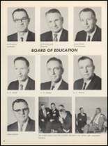 1967 Clyde High School Yearbook Page 12 & 13