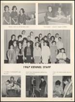 1967 Clyde High School Yearbook Page 20 & 21