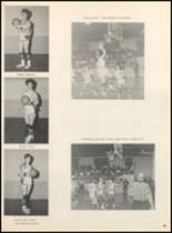 1967 Clyde High School Yearbook Page 46 & 47