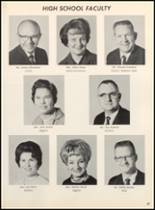 1967 Clyde High School Yearbook Page 60 & 61