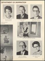 1967 Clyde High School Yearbook Page 62 & 63