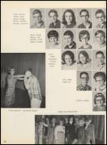 1967 Clyde High School Yearbook Page 82 & 83