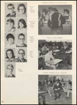1967 Clyde High School Yearbook Page 92 & 93