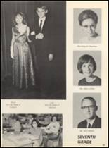 1967 Clyde High School Yearbook Page 98 & 99