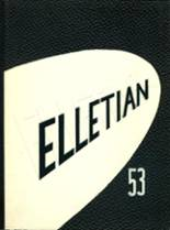 1953 Yearbook Ellet High School
