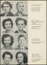1953 Glen Rose High School Yearbook Page 10 & 11