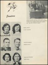 1953 Glen Rose High School Yearbook Page 16 & 17