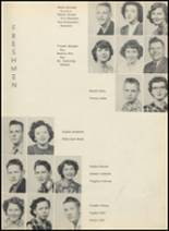 1953 Glen Rose High School Yearbook Page 20 & 21