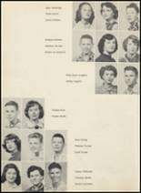 1953 Glen Rose High School Yearbook Page 22 & 23
